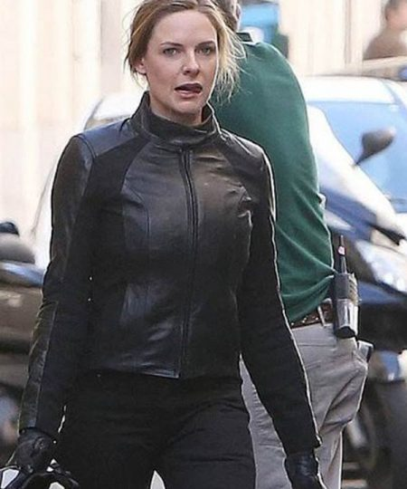 Rebecca Ferguson Leather Jacket