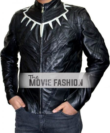 T'Challa Infinity War Black Leather Jacket