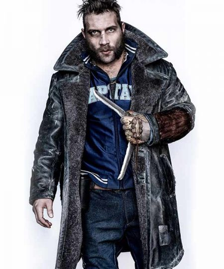 Suicide Squad Captain Boomerang Leather Coat