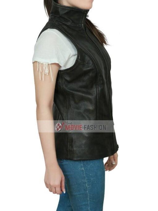 The Divergent Allegiant Shailene Woodley Brown Vest